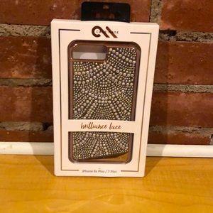 Case Mate iPhone 6s+/7+case Brilliance Lace NIB